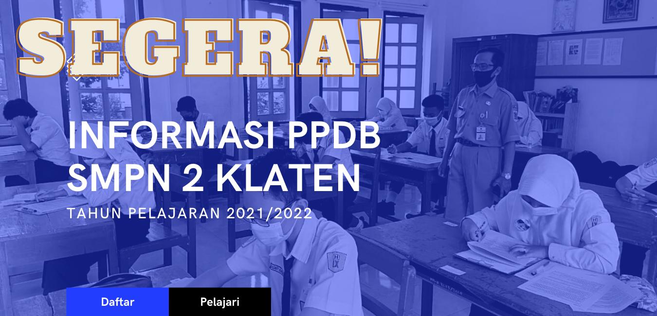 Info PPDB saat ini belum tersedia, akan dipublikasi segera!